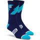 100% Bolt Performance Socks Navy